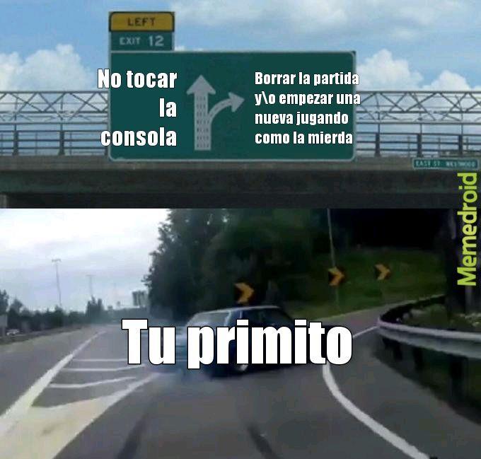 Primos pendejos - meme