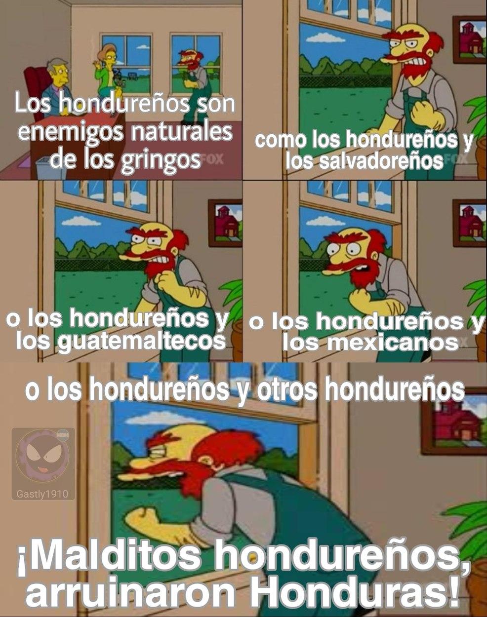Solo un meme sin animos de ofender a nadie, aunque me hace gracia por que soy hondureño :D