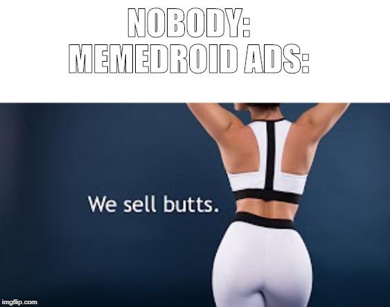 Memedroid ad