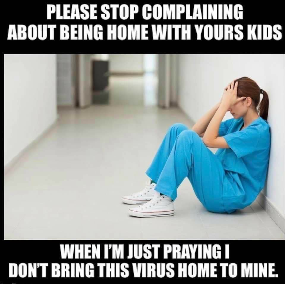 Covid healthcare workers - meme