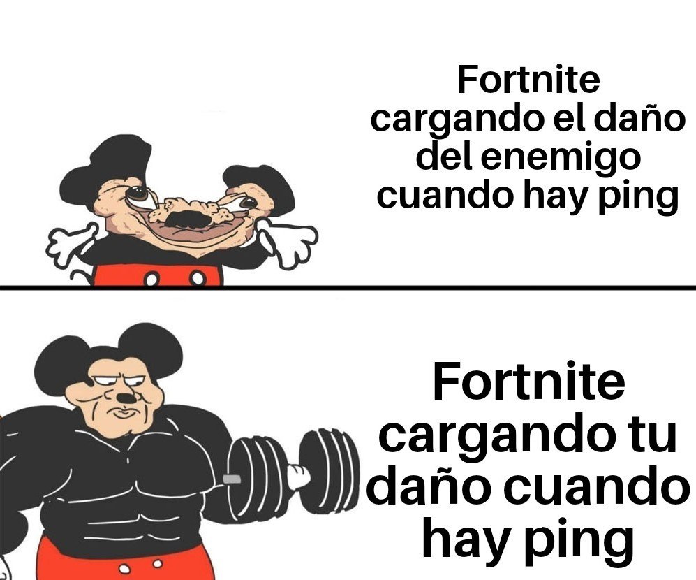 Fortnite ping - meme