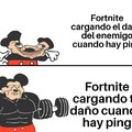 Fortnite ping