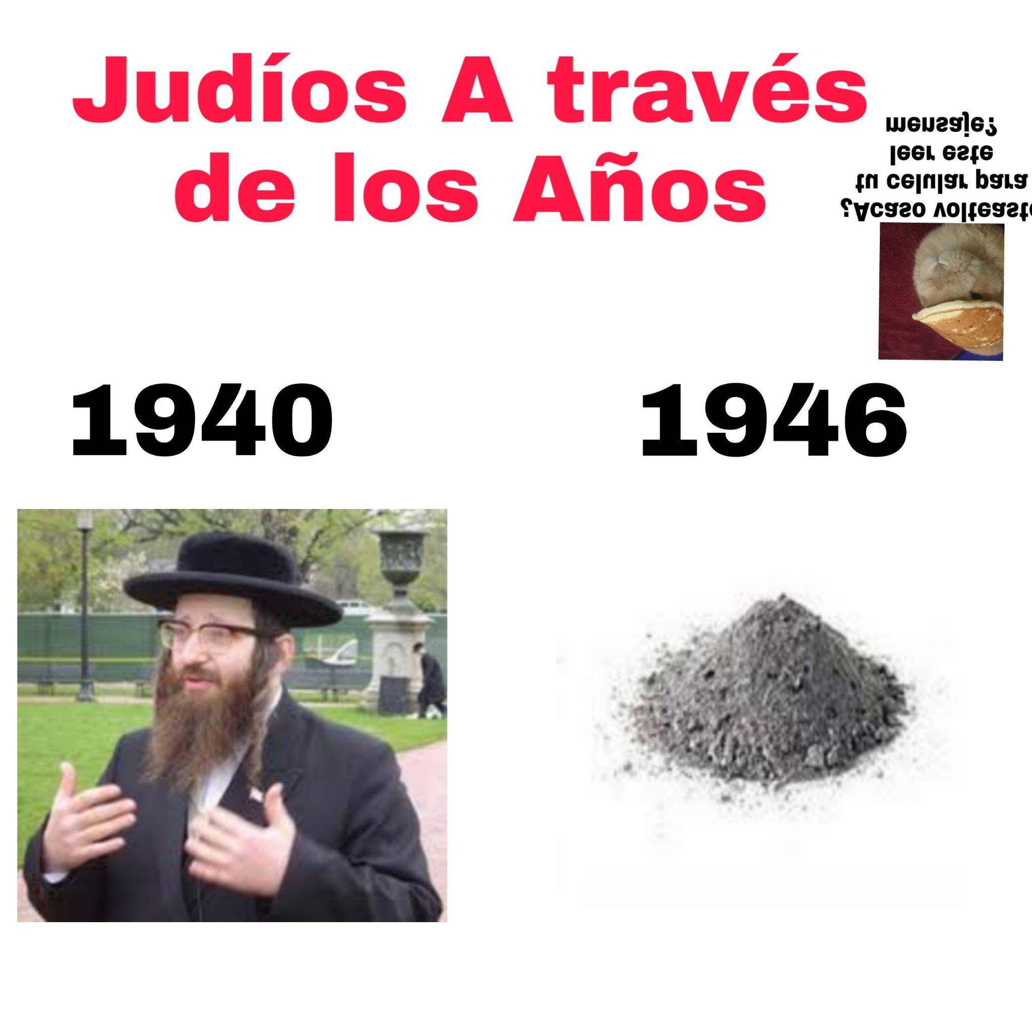 (Para el que no capto el Holocausto estuvo presente desde 1941 a 1945) - meme