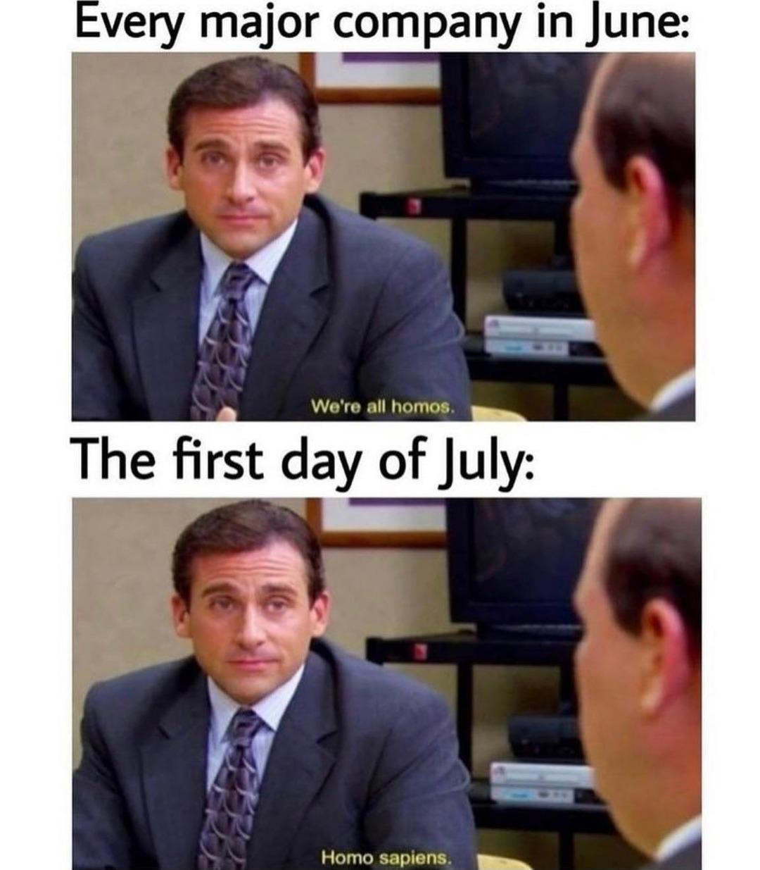 Oversaturated joke, Office Edition - meme