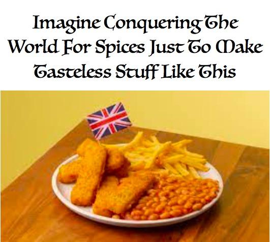 British food sucks - meme