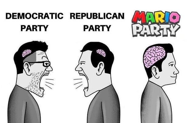 Averageg mario party enjoyer - meme