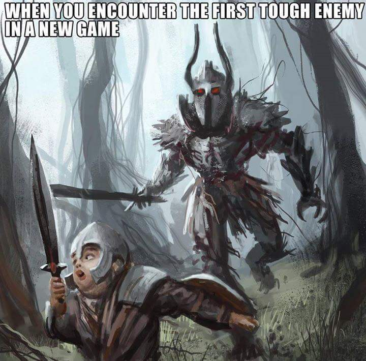 Dark soul - meme