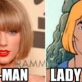 todo mundo sabe diferenciar o he-man da lady gaga