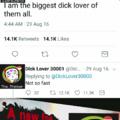 Both self-sucking cunts