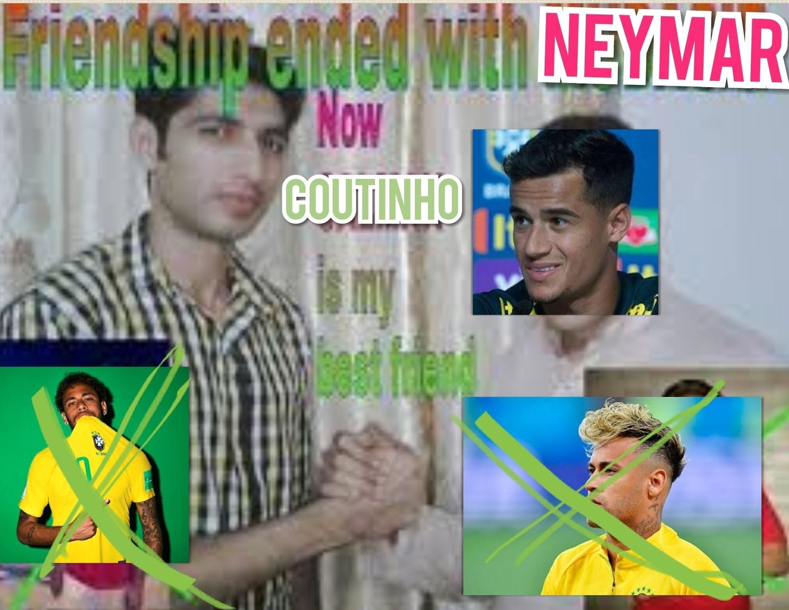 Neymar ainda é rei do br - meme