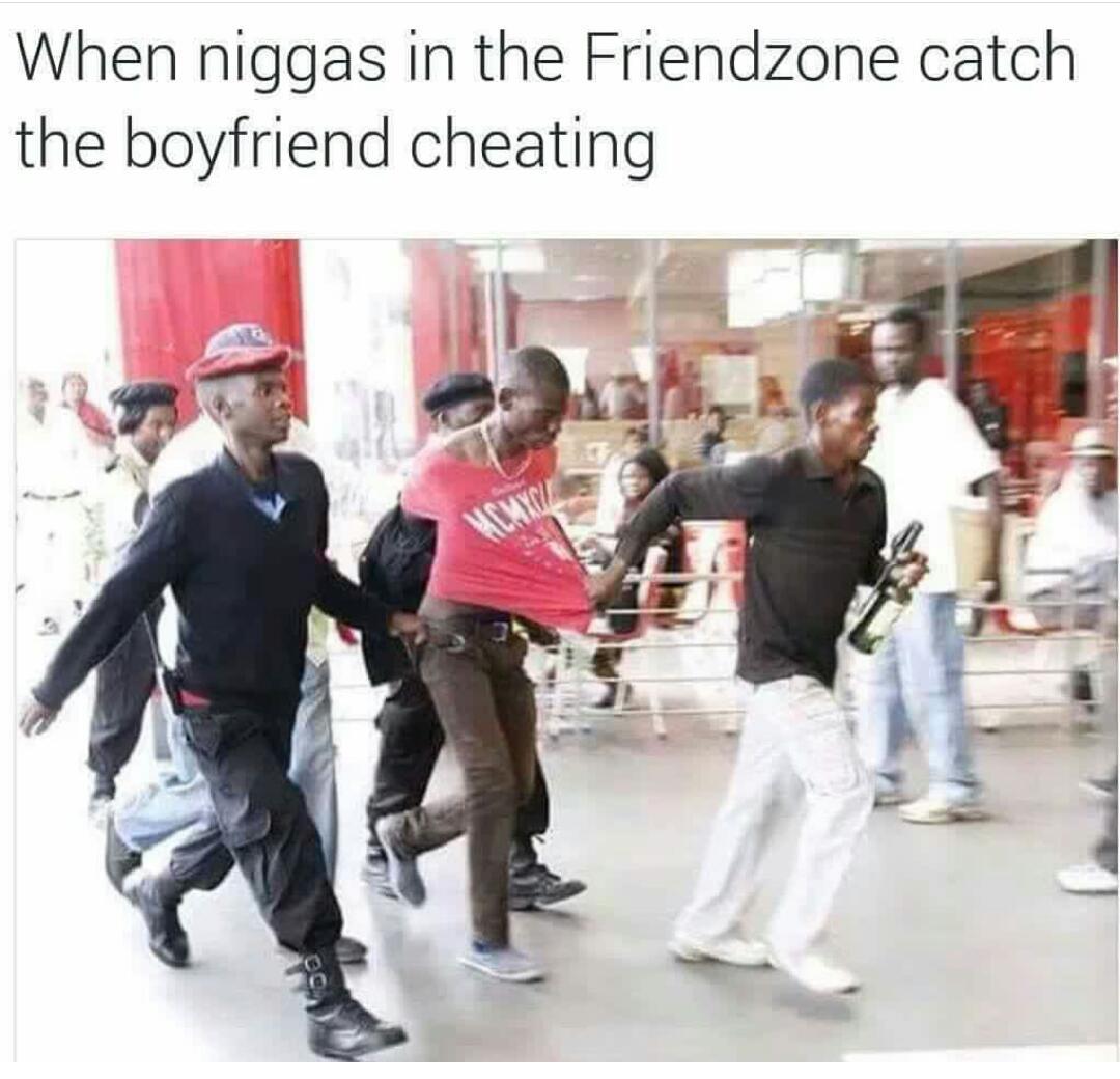 That zone is dangerous - meme