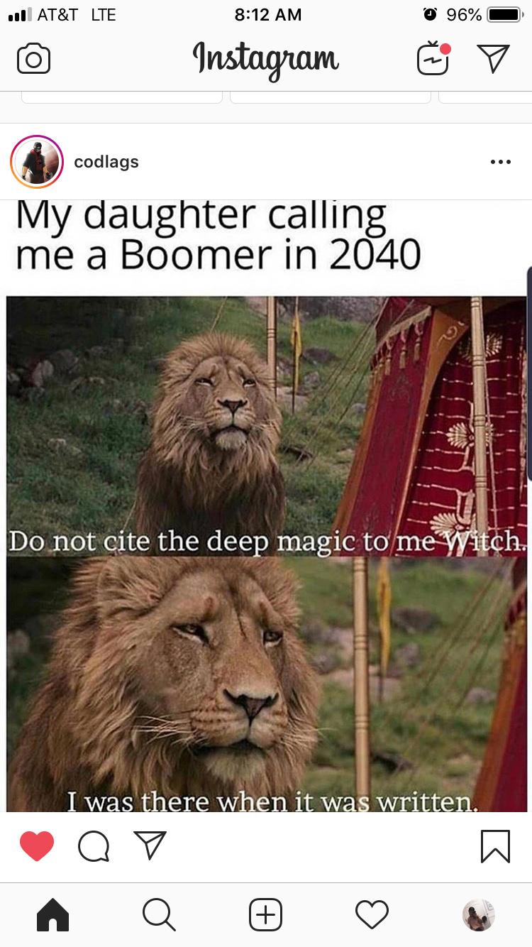 For narnia - meme