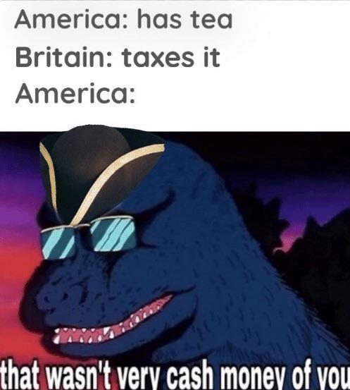 cash taxes - meme