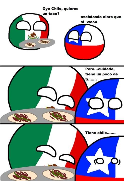 Tiene chile ( ͡° ͜ʖ ͡°) - meme