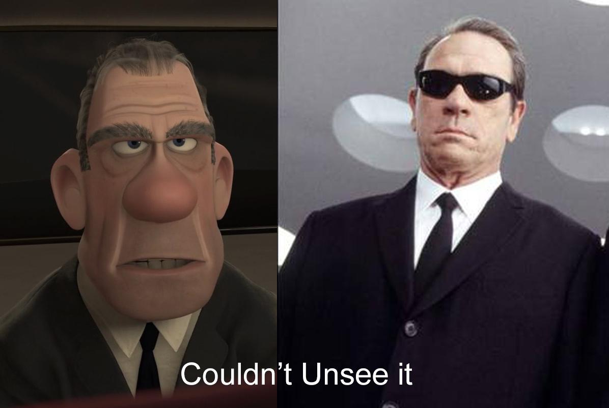Kept seeing it during the movie. - meme