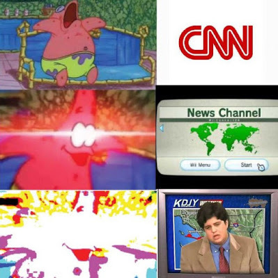 When someone asks u what news u watch - meme