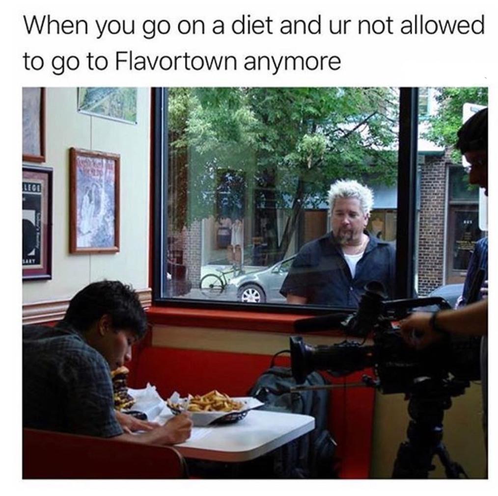 Flavortown :( - meme