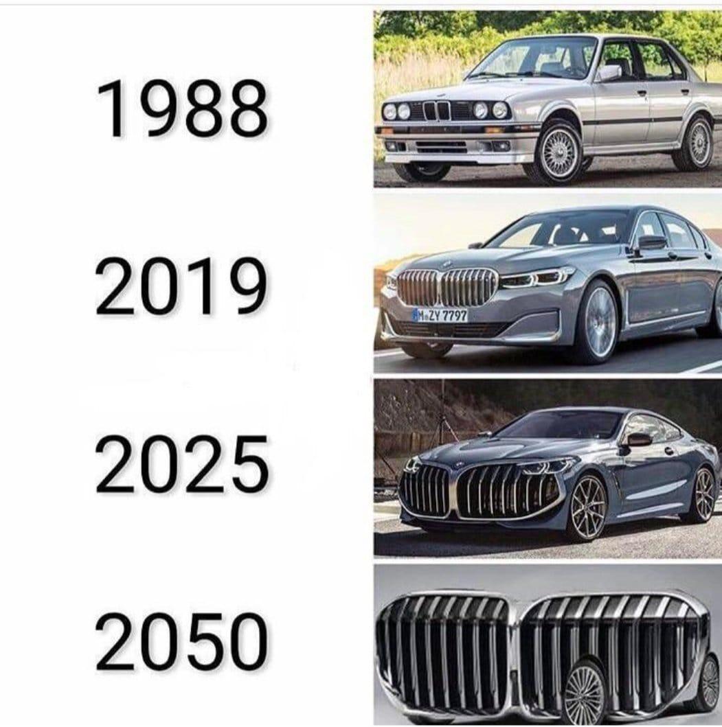 BMW nostrils - meme