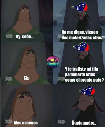 Un venezolano de sangre entiende : V - meme