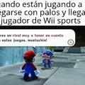Mario hablando con una Peruano