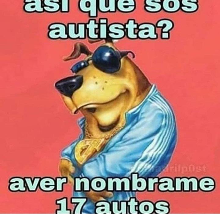 Ay dios con estos autistas, cada dia mienten más - meme