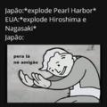 Deixar um oco nesse Nagasaki
