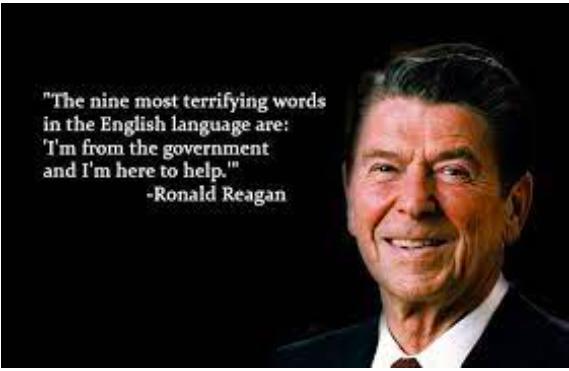 Ronald Reagan Quote - meme