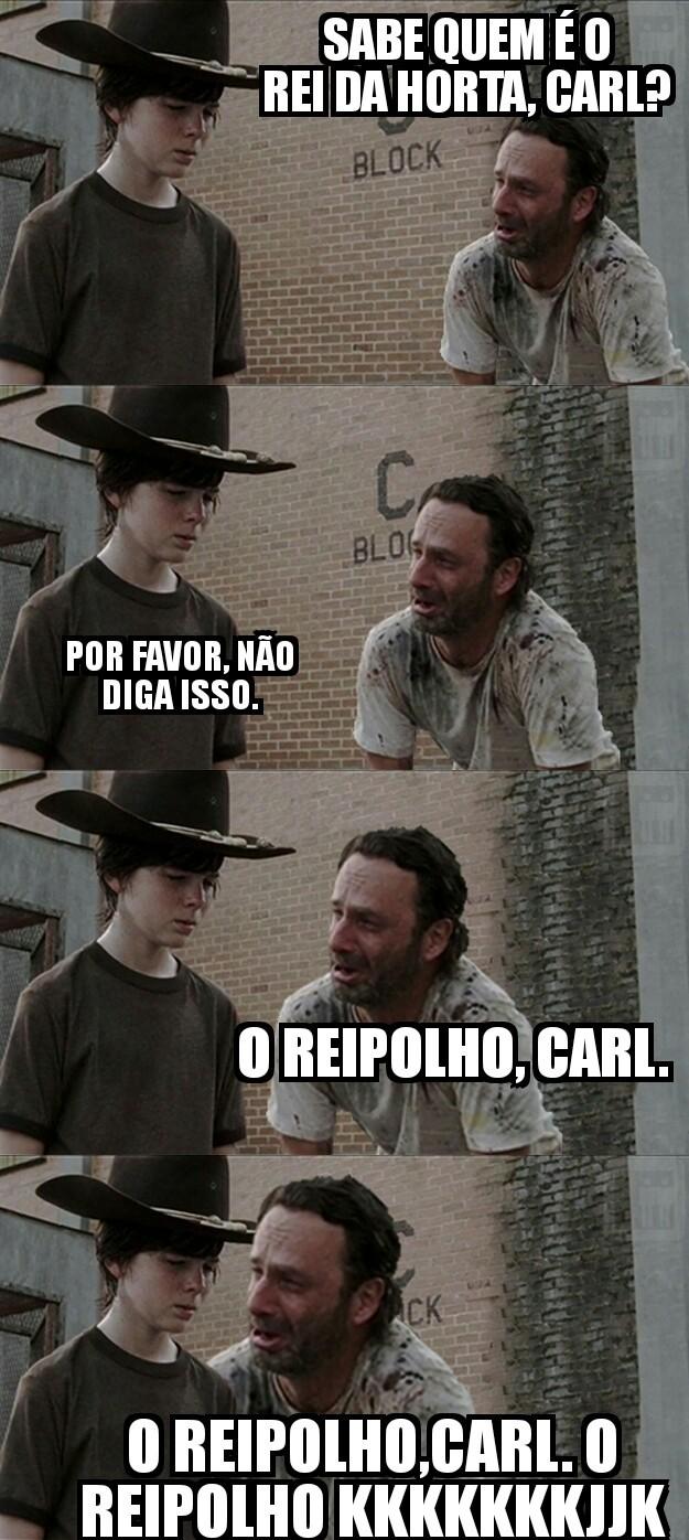 Carl e rick - meme