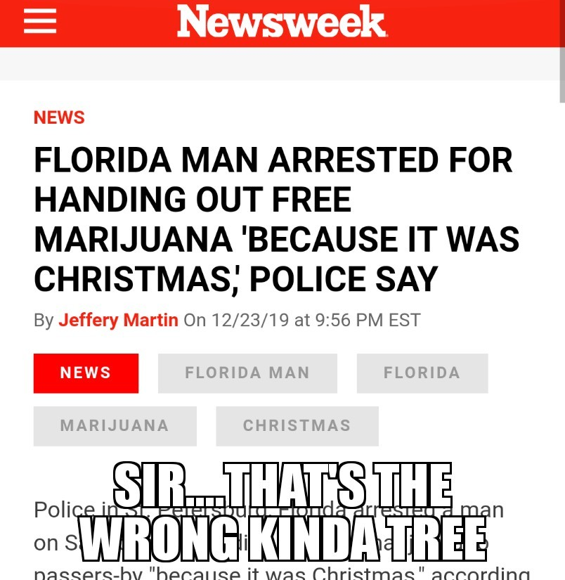 I wish I lived in Florida - meme