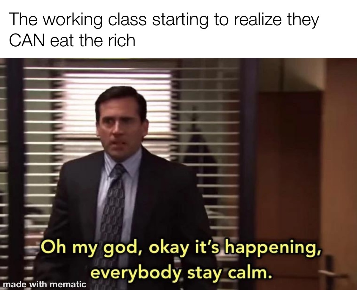 eat the rich - meme