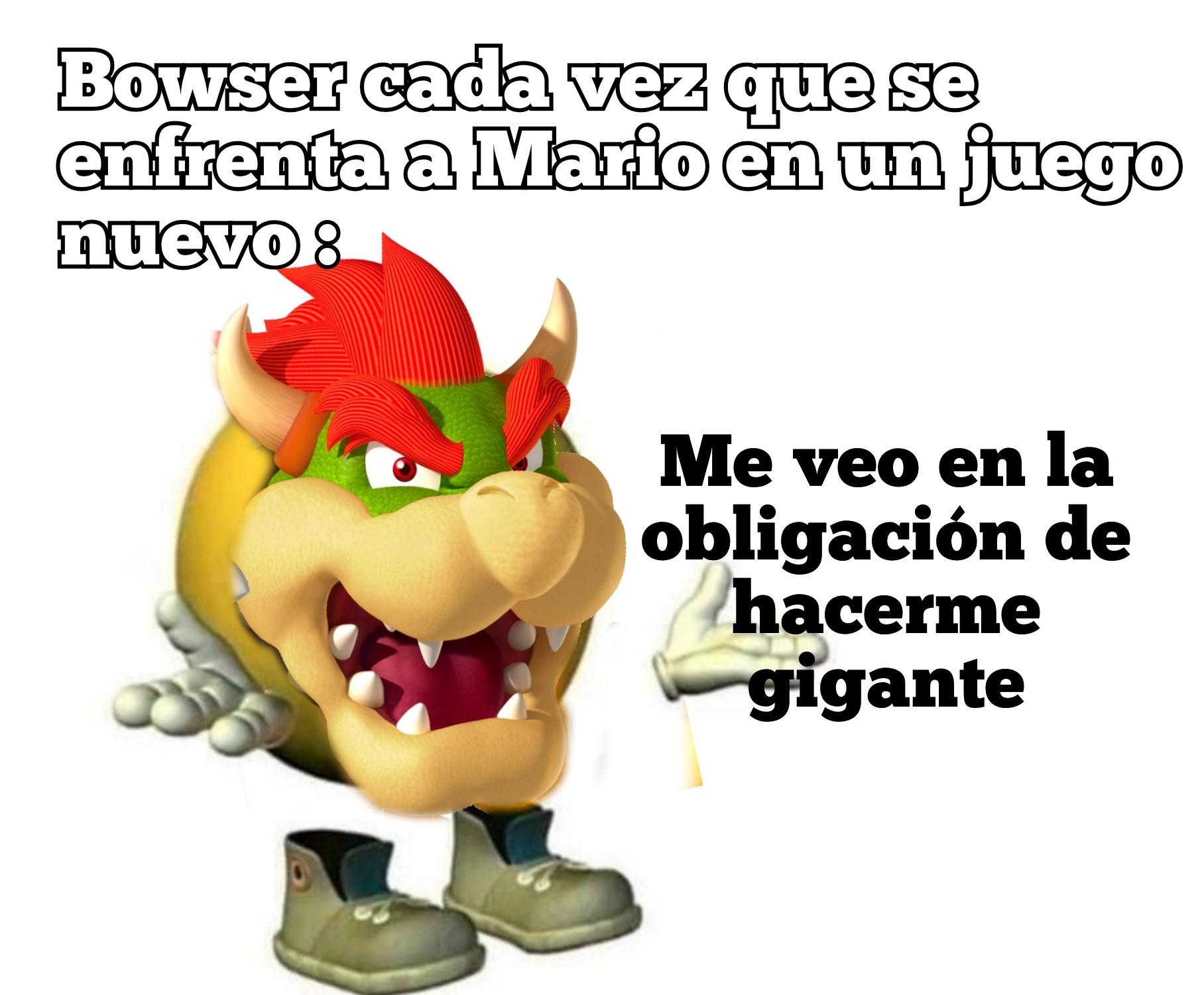 Bowser gijante - meme