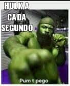 Hulk be life - meme