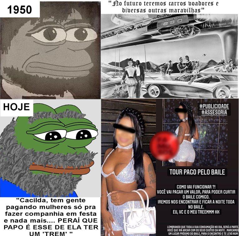 Sociedade moderna - meme