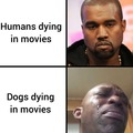i cry when my favorite character die