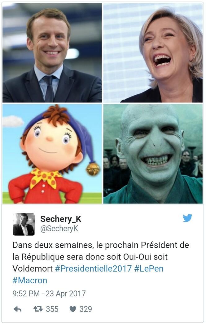 Elle ressemble vraiment à Voldemort c'est fou (surtout le sourire en fait) - meme