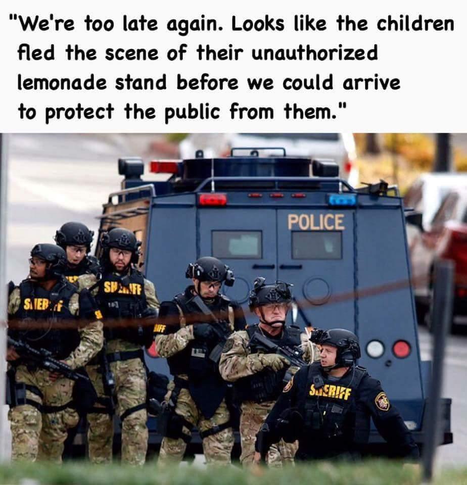 Cops blow. - meme