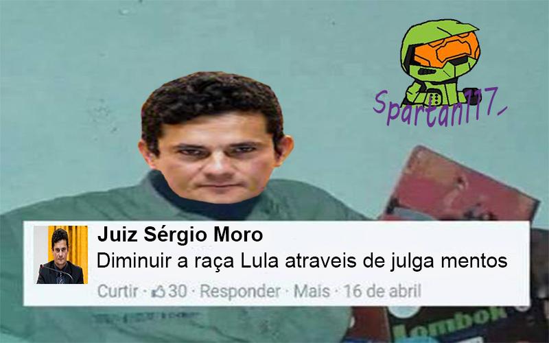 (Créditos: Bananinha) #LulaNaCadeia - meme