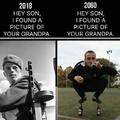 A picture of your grandpa