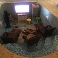 Playstation in a pool