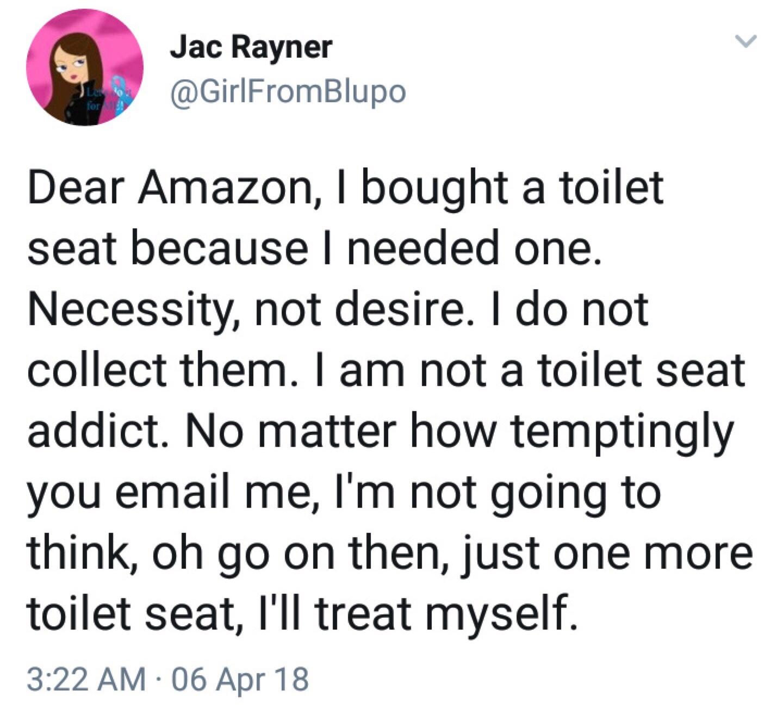 Im a toilet seat addict - meme