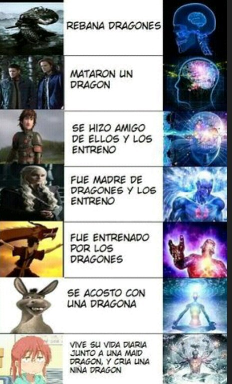 Dragones dragonianos - meme