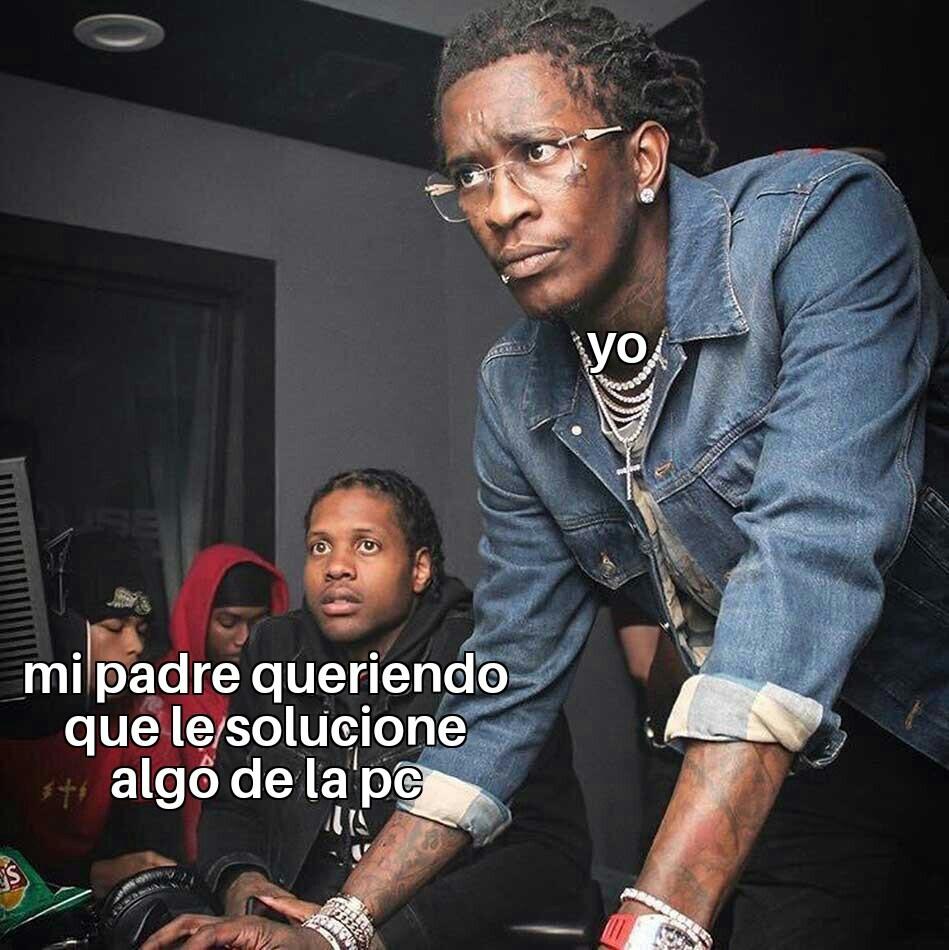 Capo en la informatica - meme