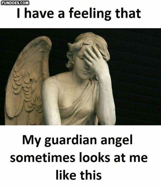 Guardian angel - meme