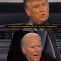 My favorite part of the debate. I hope you appreciate this OC. I cropped the faces out of the actual debate scene and everything.