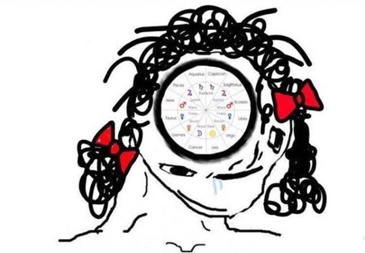 Zodiac bitches - meme
