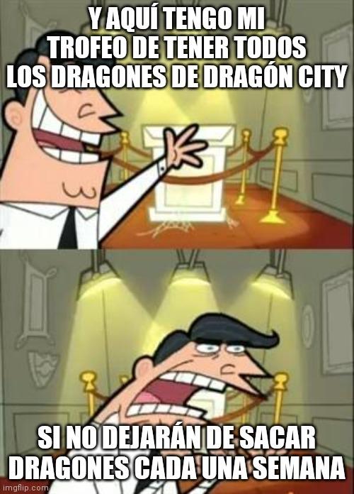 Si, todavía hay personas que juegan Dragón city - meme