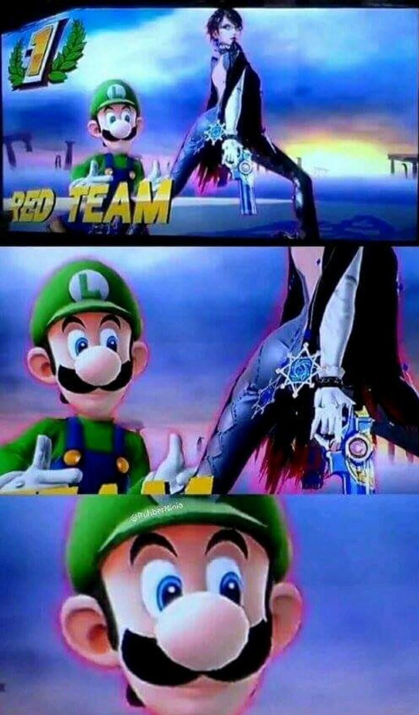 Luigi loquillo xD - meme