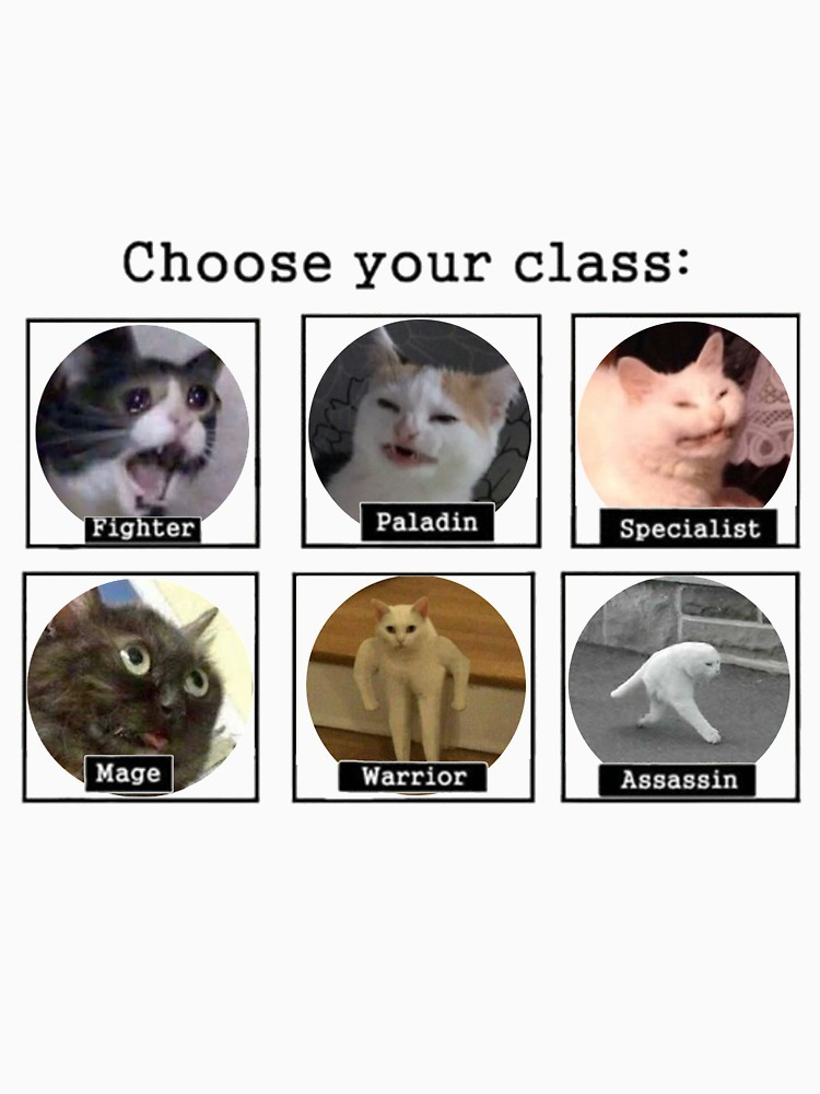 Choose your cats - meme