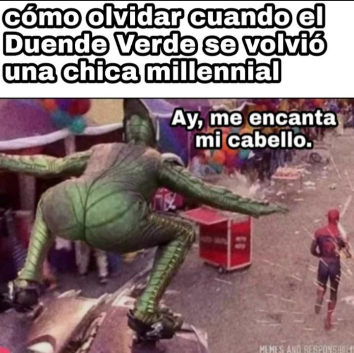 Chicas millennials - meme