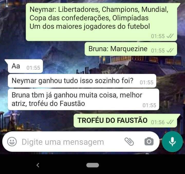 Troféu do Faustão >>>>>>> Champions League - meme